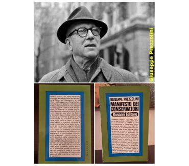 Foto di Vivastreet.it Manifesto dei conservatori, Giuseppe Prezzolini, Ed. Rusconi