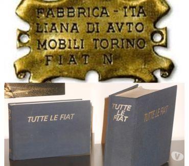 Foto di Vivastreet.it TUTTE LE FIAT, dal 1899 al 1983, EDITORIALE DOMUS 1983.
