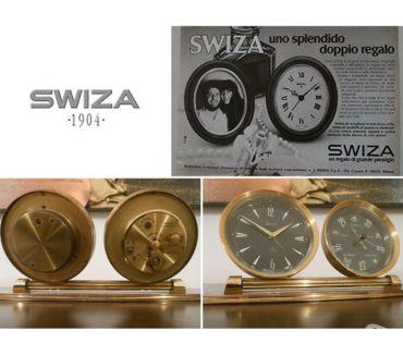 Foto di Vivastreet.it SWIZA 8 DAY SWISS MADE, OROLOGIO SVEGLIA DA TAVOLO BAROMETRO