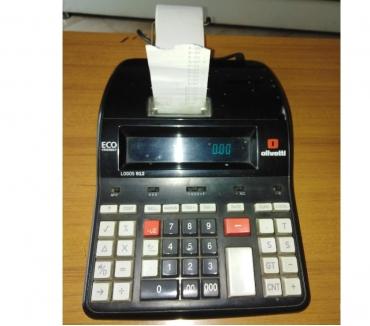 Foto di Vivastreet.it Calcolatrice da scrivania ufficio tavolo olivetti stampa car