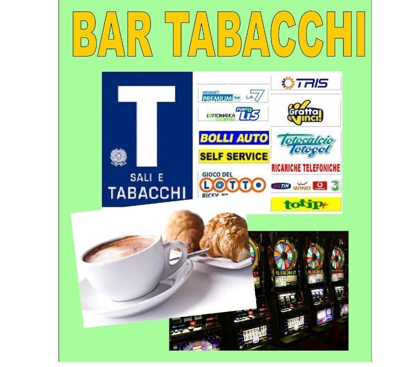 Foto di Vivastreet.it Bar Tabacchi Ricevitoria con Sala Slot VLT - rif. BAR324