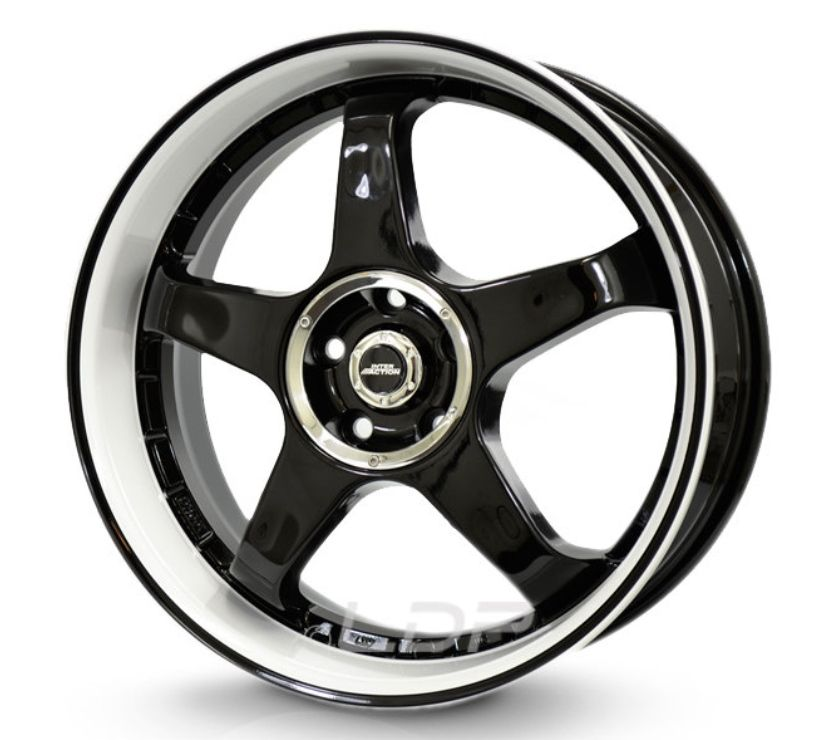 "Foto di Vivastreet.it Pack Cerchi 17"" BLACK WHITE + Gomme"