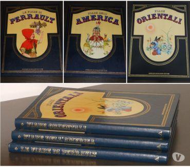 Foto di Vivastreet.it FIABE CLASSICHE DI TUTTO IL MONDO, 3 volumi, Ed. di lusso.