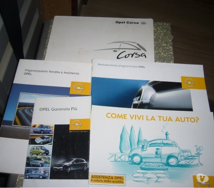 Foto di Vivastreet.it Manuale uso manutenzione Opel Corsa 2000-2006