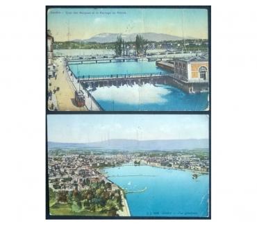 Foto di Vivastreet.it Switzerland_Geneve 2 cartoline col. FP VG GV#04
