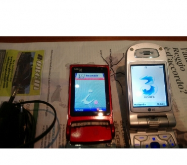 Foto di Vivastreet.it Telefoni LG U8120 Nokia N76 Nokia E65 Siemens C55
