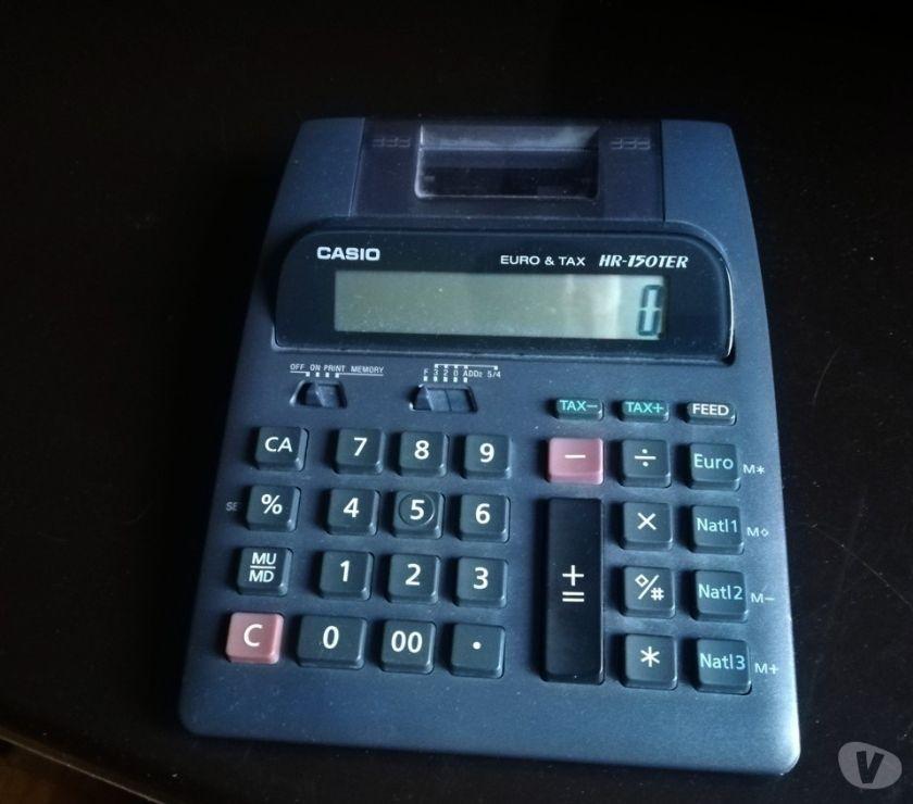 Foto di Vivastreet.it Calcolatrice da tavolo Casio HR-150TER