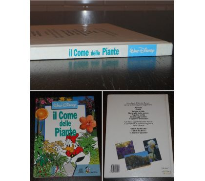 Foto di Vivastreet.it il Come delle Piante, Walt Disney, ED. GIUNTI 1991.