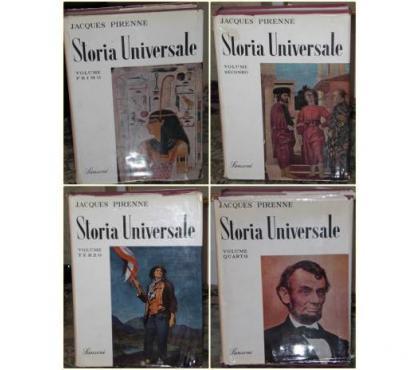 Foto di Vivastreet.it STORIA UNIVERSALE N° 4 Volumi, J. Pirenne, Sansoni 1^ Ed'55