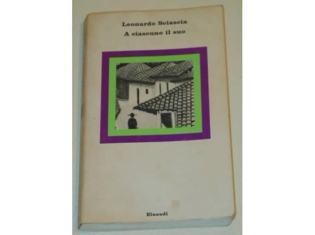 Foto di Vivastreet.it A ciascuno il suo, Leonardo Sciascia, Einaudi 1978.