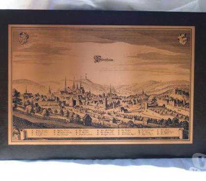Foto di Vivastreet.it Antica veduta mappa di Pforzheim. Incisione su rame