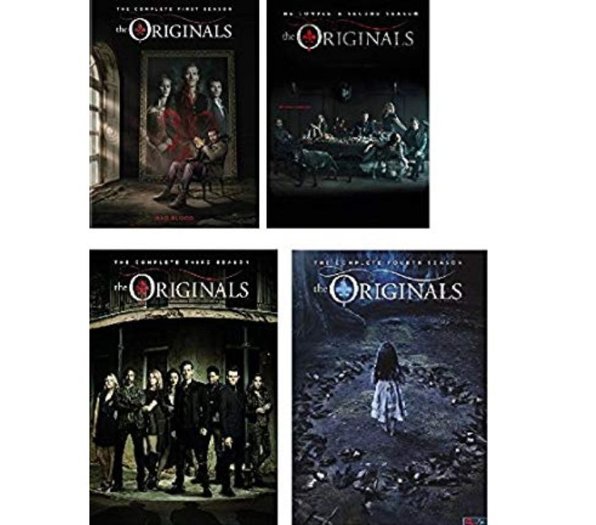 Foto di Vivastreet.it Dvd originali serie tv THE ORIGINALS 4 stagioni