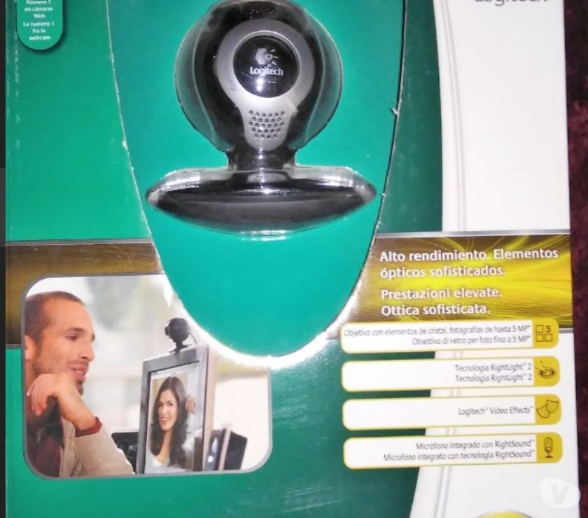 Foto di Vivastreet.it Logitech QuickCam S 7500 WebCam USB x pc windows XP Vista 10
