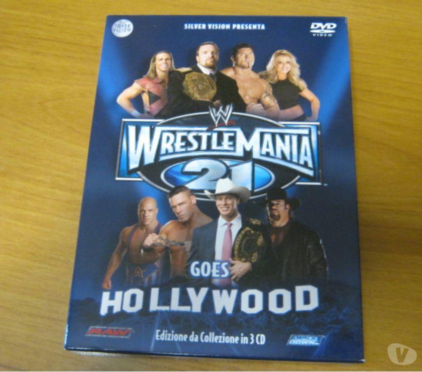 compact disc dvd e videogames Reggio nell'Emilia e provincia Scandiano - Foto di Vivastreet.it Wrestlemania 21 - Cofanetto 3 DVD da collezione