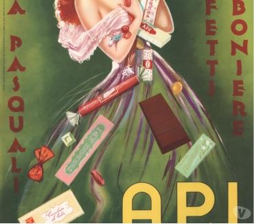 Foto di Vivastreet.it MANIFESTO originale A.P.I. Cioccolato-Torrone 50x70
