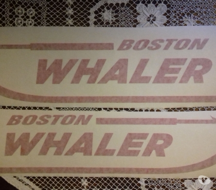 Foto di Vivastreet.it DECALS BOSTON WH.
