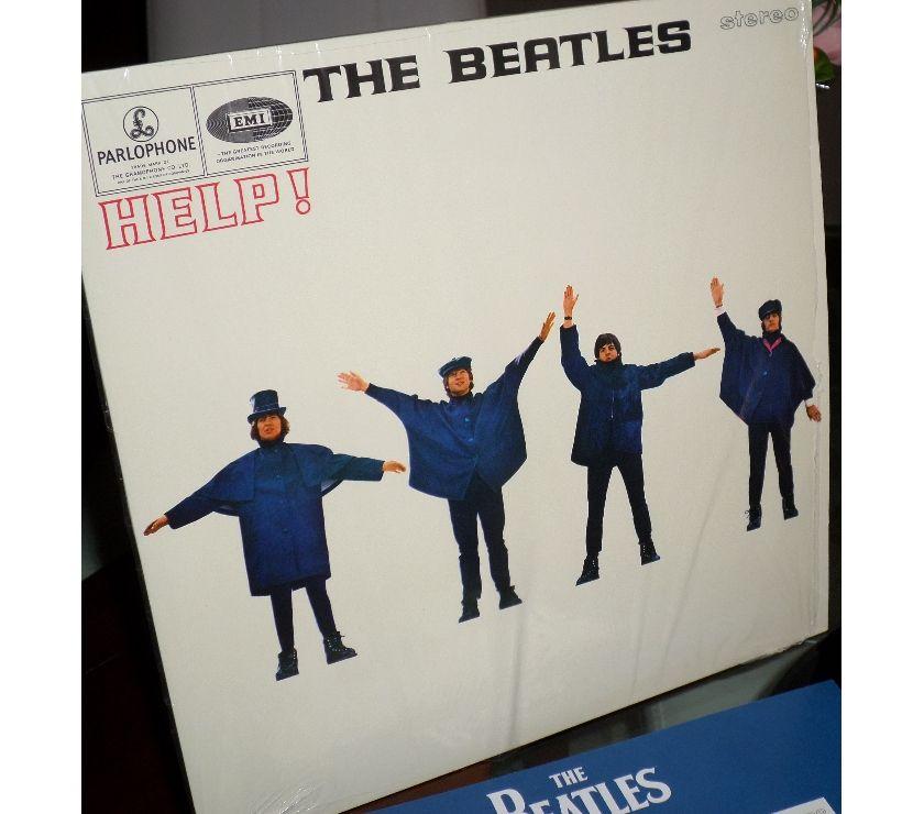compact disc dvd e videogames Palermo e provincia Palermo - Foto di Vivastreet.it THE BEATLES - Help! - LP 33 giri 1965 Parlophone Italy