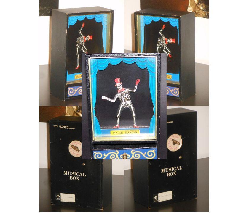 Foto di Vivastreet.it MAGIC DANCER, MUSICAL BOX scheletro danzante, C.I IKECHO MAD