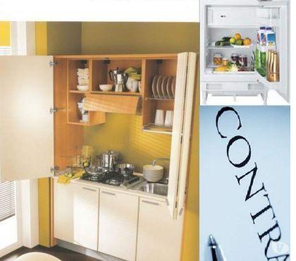 Foto di Vivastreet.it Cucina monoblocco MODERNA CM 155+ FRIGO SOTTOPIANO