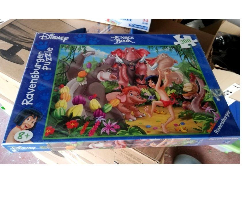 articoli per bambini e giocattoli Asti e provincia Asti - Foto di Vivastreet.it Puzzle Ravensburger 200 PZ Jungle Book Cod. 12729