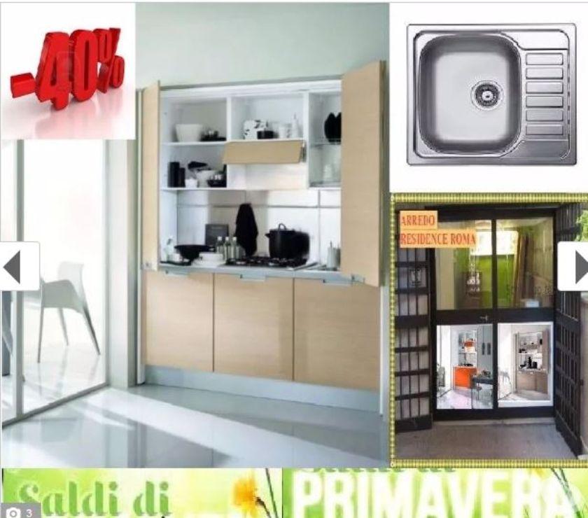 Mobili Via Gallia Roma.Arredo B B A Roma Via Gallia 98 Cucina Monoblocco Tranche In