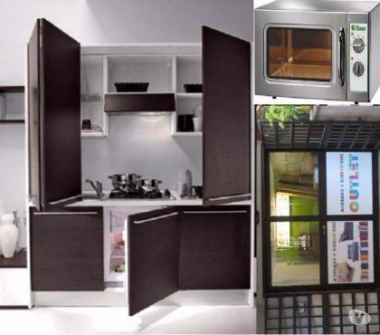 Foto di Vivastreet.it Cucina monoblocco l.185 *omologata per ufficio*+forno microo