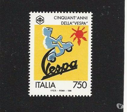 Foto di Vivastreet.it ITALIA REPUBBLICA:FRANCOBOLLO EMESSO NEL 1996, PIAGGIO-VESPA