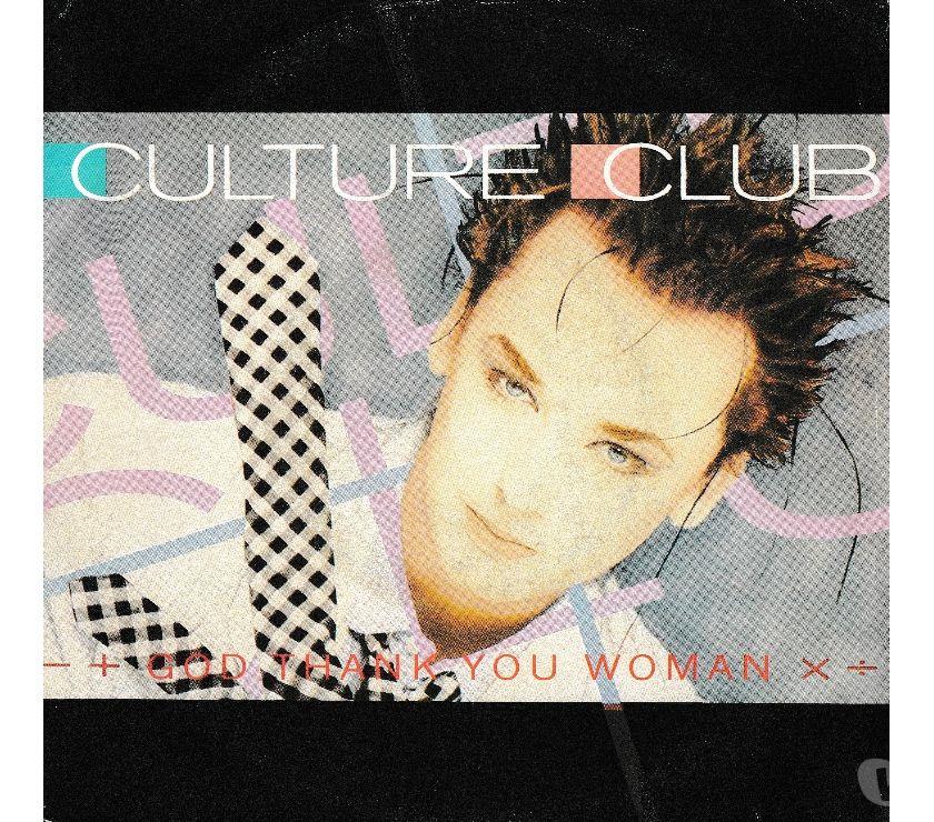 compact disc dvd e videogames Palermo e provincia Palermo - Foto di Vivastreet.it CULTURE CLUB - God Thank You Woman - 7' 45 giri 1986