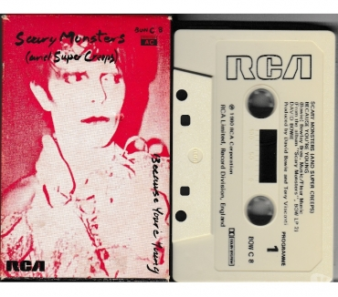 Foto di Vivastreet.it DAVID BOWIE - Scary Monsters - RARA Cassette, Tape, MC, K7