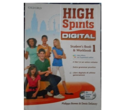 Foto di Vivastreet.it Libro Inglese prima media High Spirits 978019466579