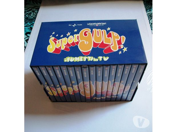 Foto di Vivastreet.it Supergulp cofanetto originale completo 16 dvd