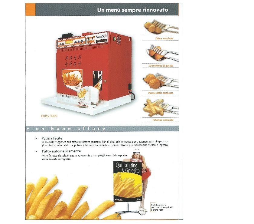 macchinari e attrezzature industriali Potenza e provincia Potenza - Foto di Vivastreet.it friggitrice automatica per patate fritte usata