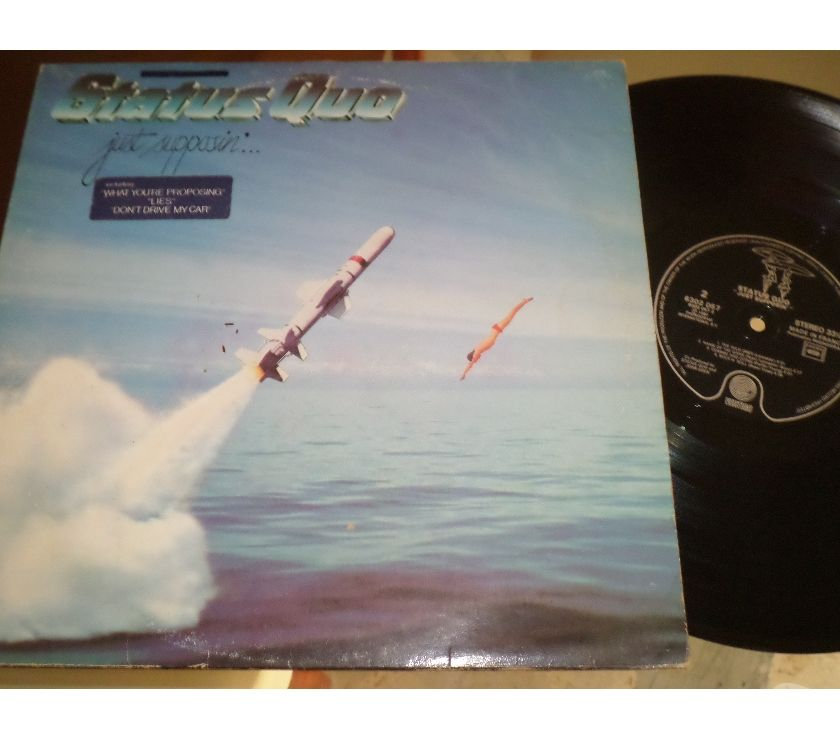 compact disc dvd e videogames Palermo e provincia Palermo - Foto di Vivastreet.it STATUS QUO - Just Supposin' - LP 33 giri 1980 Vertigo
