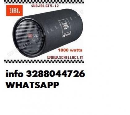 Foto di Vivastreet.it Jbl cs1214t 1000w subwoofer chiuso tubo reflex auto sub woof