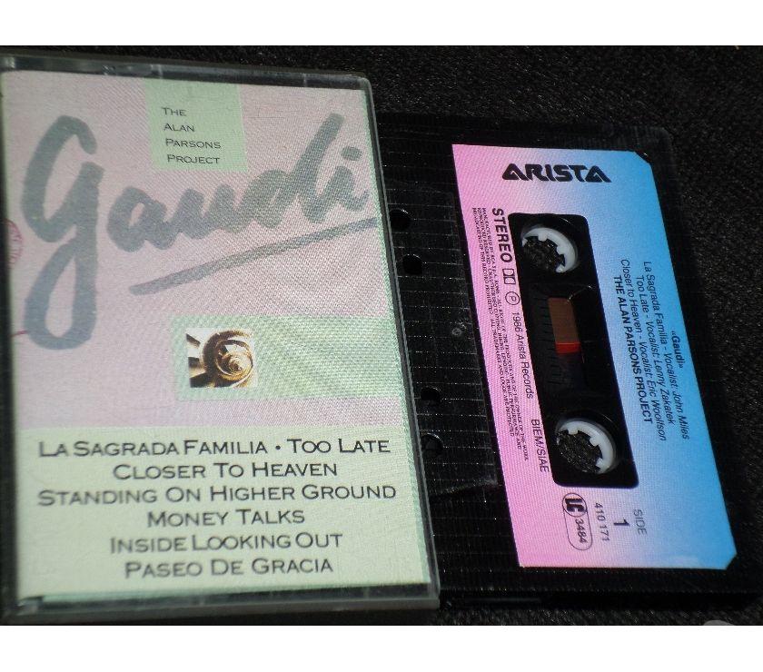 "compact disc dvd e videogames Palermo e provincia Palermo - Foto di Vivastreet.it ALAN PARSONS PROJECT - "" Gaudi "" AlbumCassette,Tape,MC,K7"