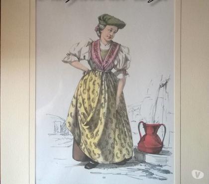 Foto di Vivastreet.it Stampe – 1958 COSTUMI POPOLARI ITALIANI - Donna di Cortina