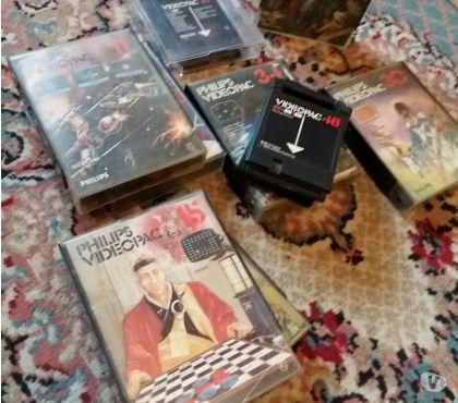 Foto di Vivastreet.it Giochi originali Philips Videopac in cartucce Vintage Raro