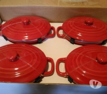 Foto di Vivastreet.it Set 4 mini-cocottes, casseruole con coperchio