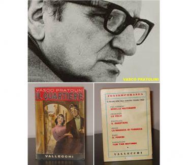 Foto di Vivastreet.it IL QUARTIERE, VASCO PRATOLINI, VALLECCHI EDITORE 1^ Ed. 1954
