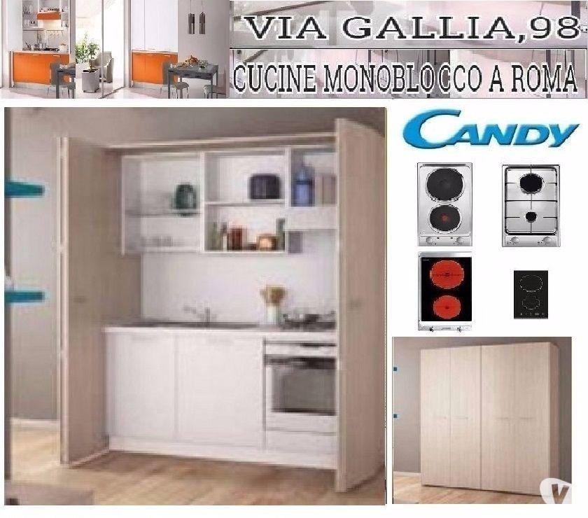 Cucine Monoblocco Usate Roma.Arredo Bed And Breakfast A Roma Cucina Monoblocco Blok Cm 13