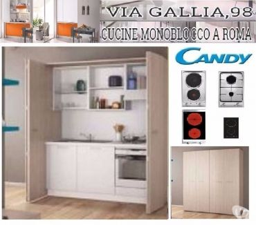 Foto di Vivastreet.it Arredo bed and breakfast a roma-Cucina monoblocco BLOK CM 13