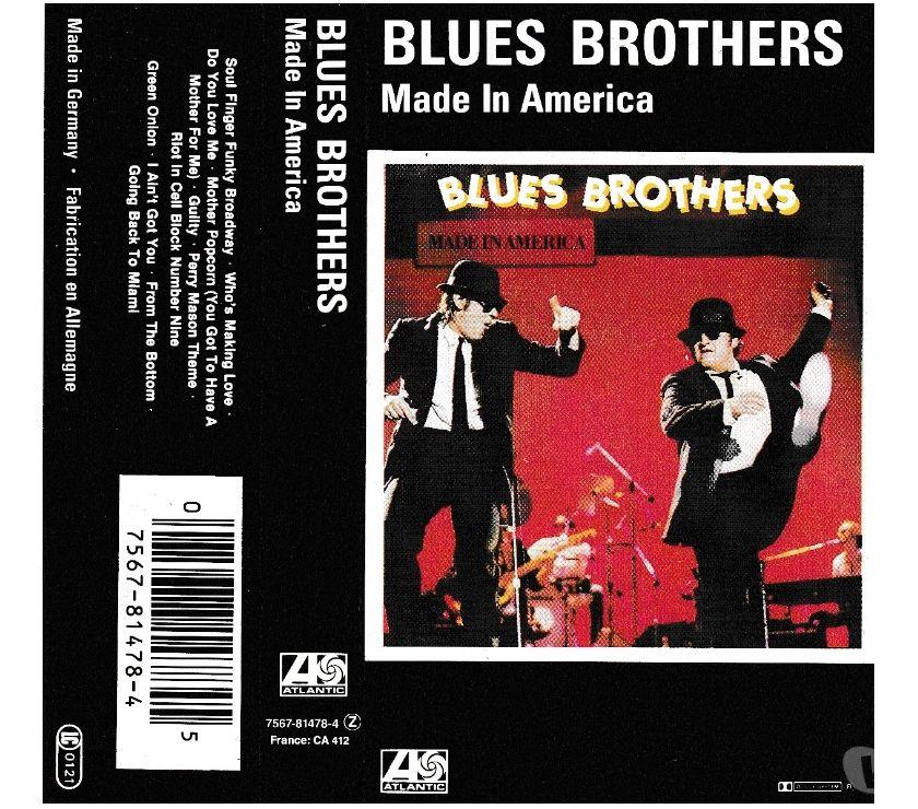 compact disc dvd e videogames Palermo e provincia Palermo - Foto di Vivastreet.it BLUES BROTHERS - Made In America - Cassette, TapeAlbum, MC