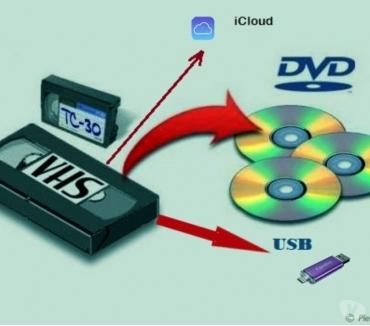 Foto di Vivastreet.it #Conversione cassette VHS, VHS-C su DVD, USB, iCLOUD.