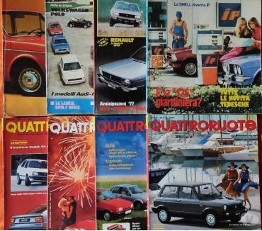 Foto di Vivastreet.it Quattroruotei n°242 riviste comprese fra il 1984 ed il 2005.