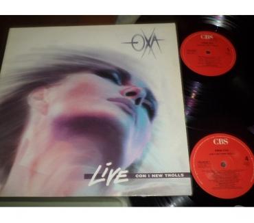 Foto di Vivastreet.it ANNA OXA LIVE con NEW TROLLS - 2 x LP 33 giri 1990 CBS