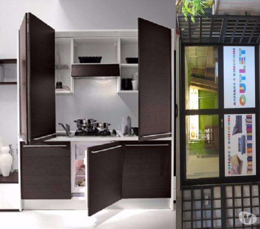 ARREDO B&B A ROMA-Cucina monoblocco a scomparsa 85 ufficio ...