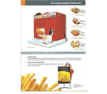 Foto di Vivastreet.it friggitrice automatica per patate fritte usata
