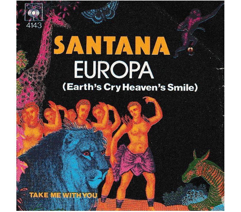 compact disc dvd e videogames Palermo e provincia Palermo - Foto di Vivastreet.it SANTANA - Europa - Take Me With You - 7' 45 giri 1976 CBS