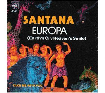 Foto di Vivastreet.it SANTANA - Europa - Take Me With You - 7' 45 giri 1976 CBS