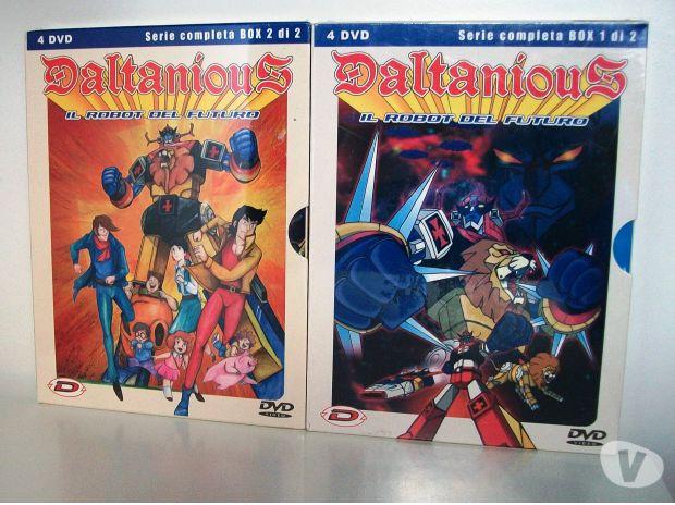 compact disc dvd e videogames Bologna e provincia Bologna - Foto di Vivastreet.it Daltanious in 2 box originali della dynit